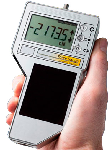 FMI-S10C5 Solar Powered Digital Force Gauge Basic Model, Range 500 N