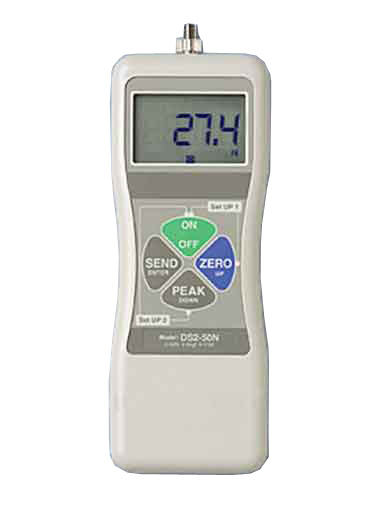 Imada DS2-0.4 Digital Force Gauge with Output, Cap. 7 Oz / 200 G / 2 N, 110V